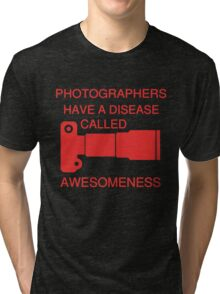 PHOTOGRAPHERS AWESOMNESS Tri-blend T-Shirt