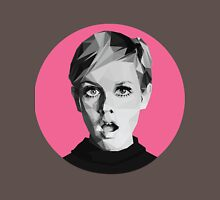 Twiggy low-poly portrait Unisex T-Shirt