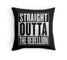 Straight Outta The Rebellion Throw Pillow