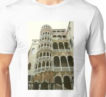 The Bovolo (Snail) Staircase, Venice Unisex T-Shirt
