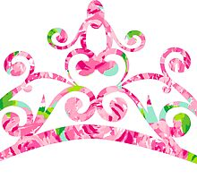 Lilly Pulitzer Inspired Tiara - First Impression by mlr28blu