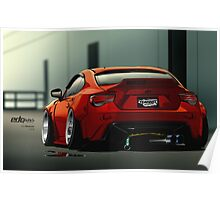 Scion fr-s wide body slam Poster