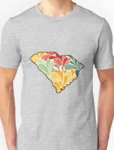 Floral South Carolina T-Shirt