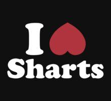 I Heart Sharts One Piece - Short Sleeve