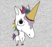 Baby Arnold - The Ice Cream Cone Unicorn Baby Tee