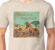 Dog Breed - the Rhodesian Ridgeback Unisex T-Shirt