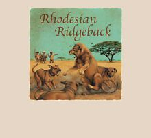 Dog Breed - the Rhodesian Ridgeback Unisex T-Shirt