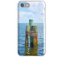 Three Friends in the Sea iPhone Case/Skin