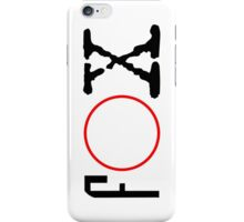 FOX - X files iPhone Case/Skin