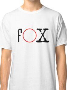 FOX - X files Classic T-Shirt