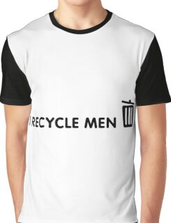I Recycle Men Graphic T-Shirt