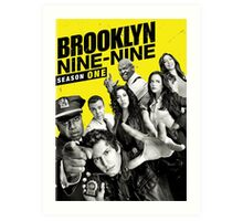 Brooklyn Nine-Nine Art Print