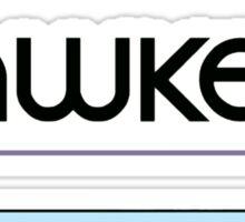 hawkdog Sticker