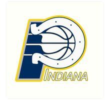 Indiana Pacers colts mash up Art Print