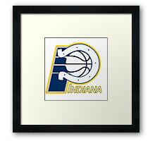 Indiana Pacers colts mash up Framed Print