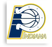 Indiana Pacers colts mash up Canvas Print
