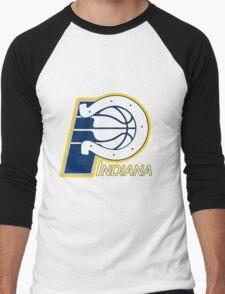 Indiana Pacers colts mash up Men's Baseball ¾ T-Shirt