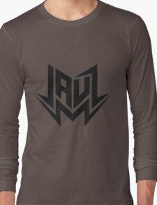 Jauz - Logo - Black Long Sleeve T-Shirt