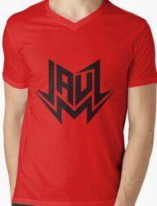 Jauz - Logo - Black Mens V-Neck T-Shirt