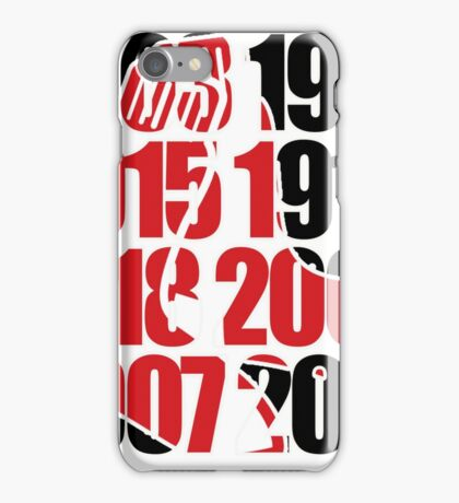 Boston red sox world series Championships iPhone Case/Skin