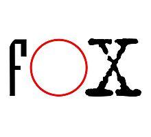 FOX - X files Photographic Print