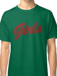 Girls (Red) Classic T-Shirt