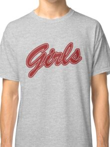 Girls (Red) Classic T-Shirt