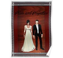 Pride and Prejudice Darcy and Lizzy 2 Poster