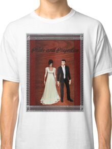 Pride and Prejudice Darcy and Lizzy 2 Classic T-Shirt