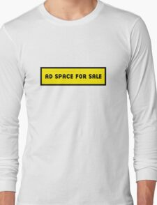 Advertising space for sale Long Sleeve T-Shirt