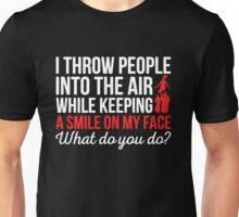 What Do You Do- Cheerleader Unisex T-Shirt