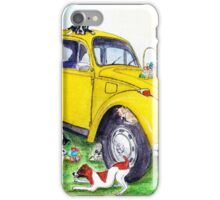 Taxi Bug's Easter with Doggy Friends iPhone Case/Skin