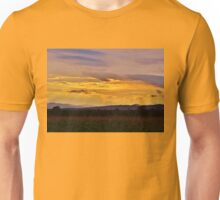 Sunset on the Mountain Unisex T-Shirt