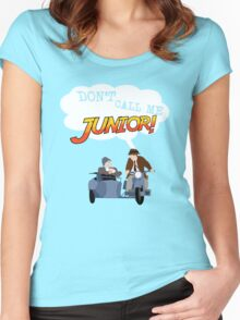 Don't Call Me Junior! Women's Fitted Scoop T-Shirt