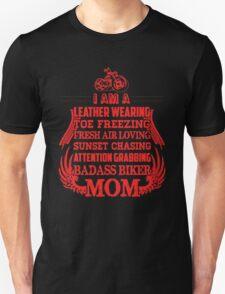 Biker Poem Motorcycles Mom T-Shirt