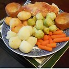 Roast Chicken with Vegetables by MidnightMelody