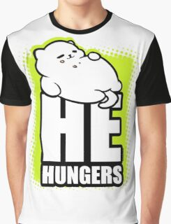 He Hungers Graphic T-Shirt