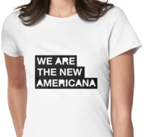 new americana Womens Fitted T-Shirt