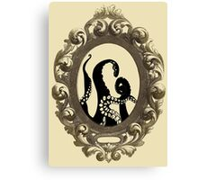Tentacle Cameo Canvas Print