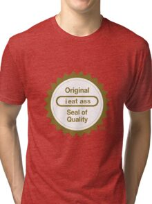 "Nintendo's ""Seal of Quality"" Tri-blend T-Shirt"