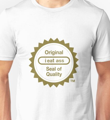 "Nintendo's ""Seal of Quality"" Unisex T-Shirt"