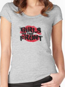 Girls to the Front Women's Fitted Scoop T-Shirt