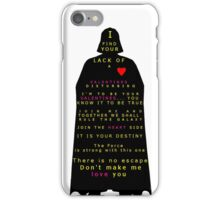 Star Wars Darth Vader: Valentines iPhone Case/Skin