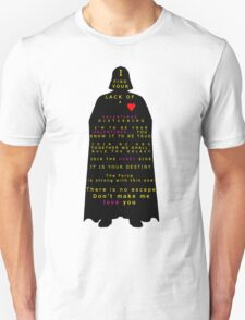 Star Wars Darth Vader: Valentines Unisex T-Shirt
