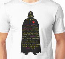 Star Wars Darth Vader: Valentines Unisex T-Shirt