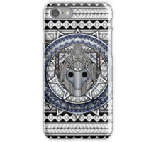 Aztec Future Robot Pencils sketch Art iPhone Case/Skin