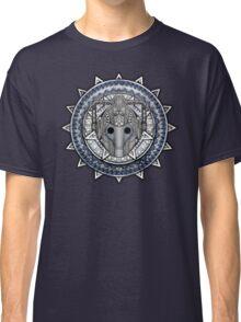 Aztec Future Robot Pencils sketch Art Classic T-Shirt