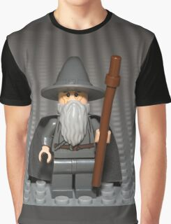 You Shall Not PASS, on this photo Graphic T-Shirt