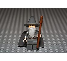 You Shall Not PASS, on this photo Photographic Print
