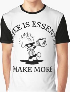 calvin and hobbes coffee Graphic T-Shirt